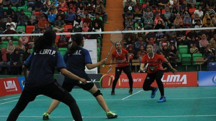 Unitomo Gusur Dominasi UB di LIMA Badminton EJC 2019