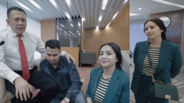 Intip Tas Selempang Mewah yang Dikenakan Nagita Slavina Saat Kunjungi Gedung DPR