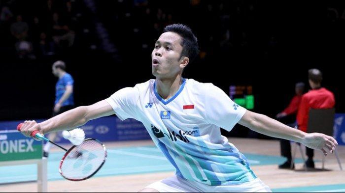 Jadwal Swiss Open 2019 - Anthony Sinisuka Ginting Hadapi Lin Dan