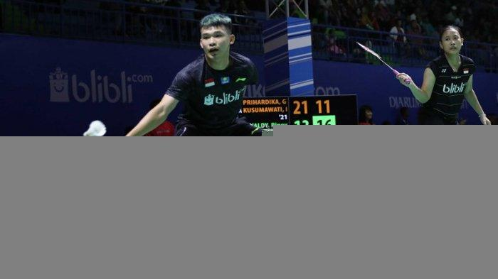 Swiss Open 2019: Rinov Rivaldy/Pitha Haningtyas Mentari Melenggang ke Semifinal