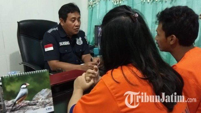 Andi dan Istrinya Diciduk Polisi saat Transaksi Sabu di Pinggir Jalan