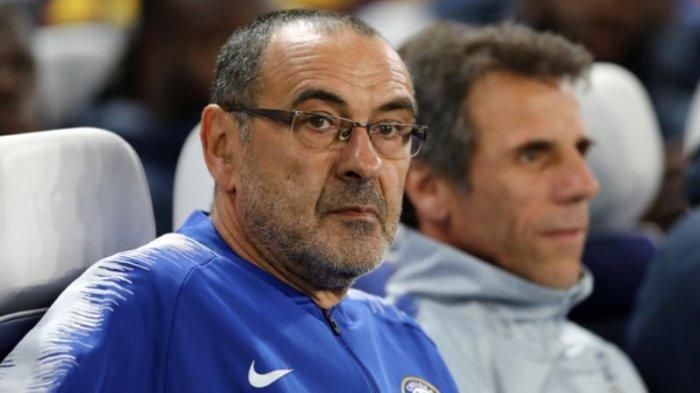 Sarri Berharap Chelsea Tak Bertemu Napoli di Liga Europa