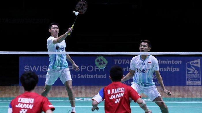 Kemenangan Fajar/Rian Pastikan Ganda Putra Indonesia Punya 1 Wakil di Semifinal
