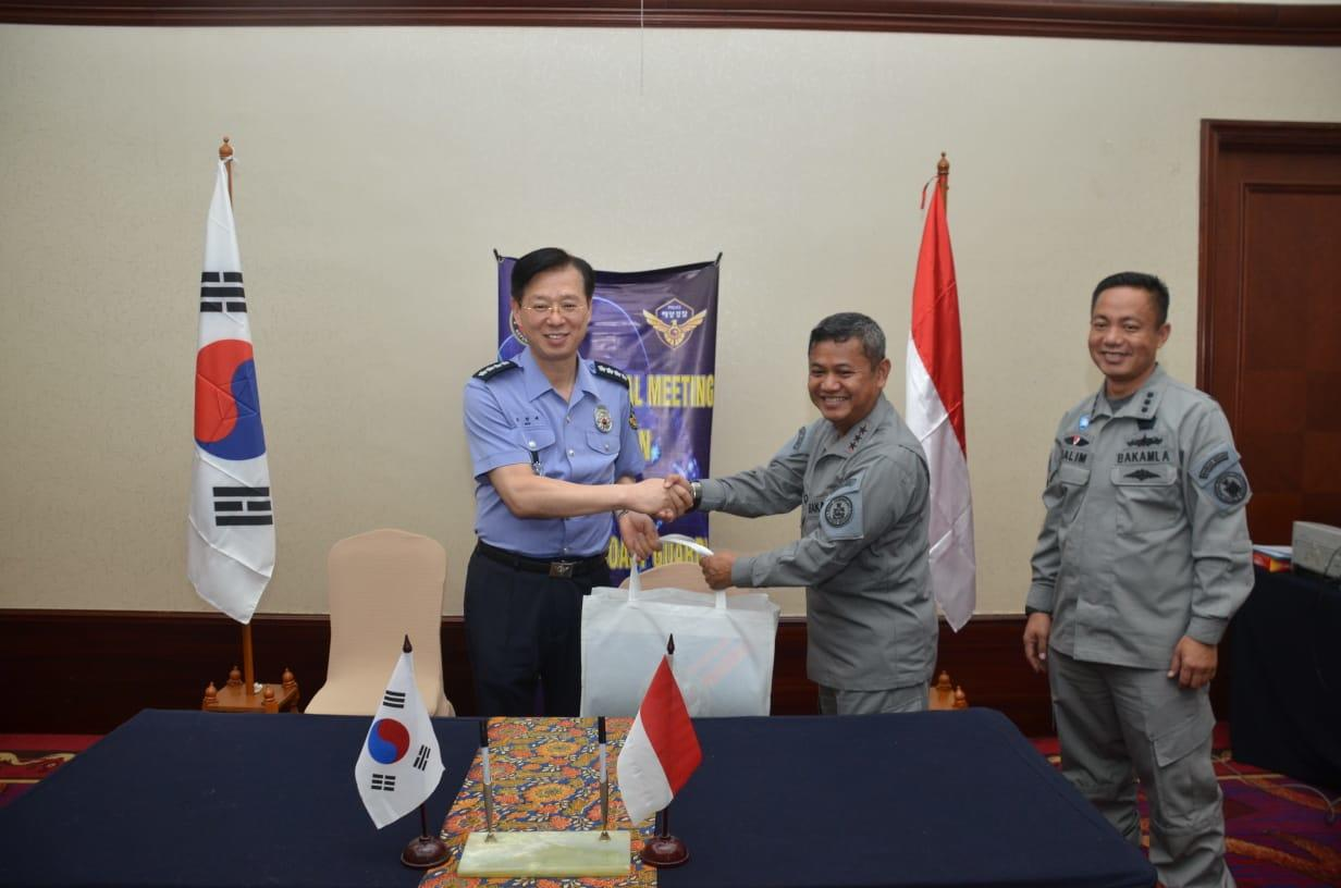 Bakamla dan Korea Coast Guard Gelar Pertemuan Bilateral Pertama