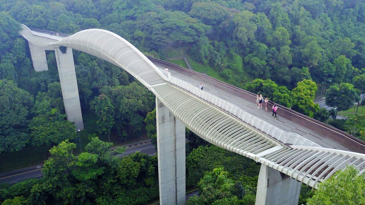 Indahnya Henderson Waves Bridge Singapore - Saatnya Impian Jadi Nyata