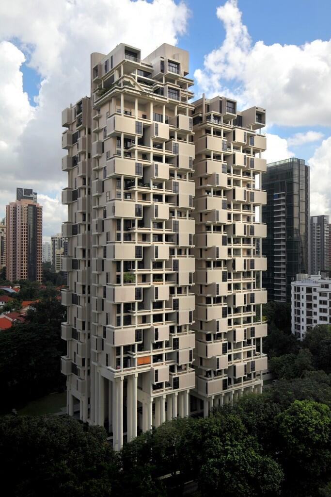 Saatnya Impian Jadi Nyata: 4 Gedung Apartemen di Singapura Dengan Bentuk Tak Biasa