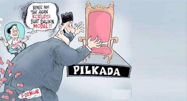 MAHAR POLITIK MEMICU TERJADINYA KORUPSI