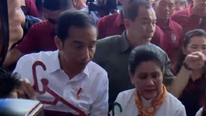Saat Jokowi Menikmati Kopi Rp 7.000 di Warung Diiringi Lagu Emak-emak