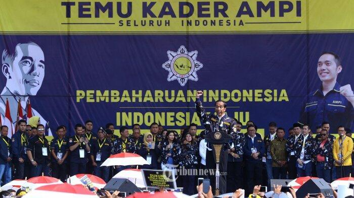 Jokowi Minta AMPI Terus Jaga Persatuan Bangsa Meski Berbeda Pilihan Politik
