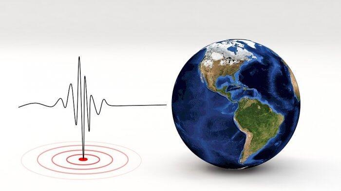 Gempa Hari Ini - BMKG Catat Gempa 5,6 SR Guncang Labuha, Pusat Gempa di Laut