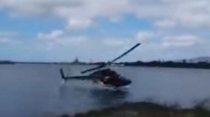 BREAKING NEWS: Helikopter Jatuh di Tasikmalaya