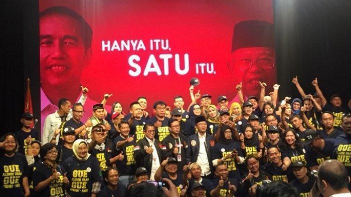 Perjuangkan Nilai Reformasi, Alumni Unas Deklarasi Dukungan untuk Jokowi-Maruf Amin