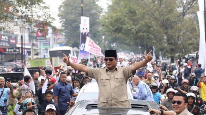 Pesan Prabowo kepada Juru Kampanye: Jangan Takut Diintimidasi