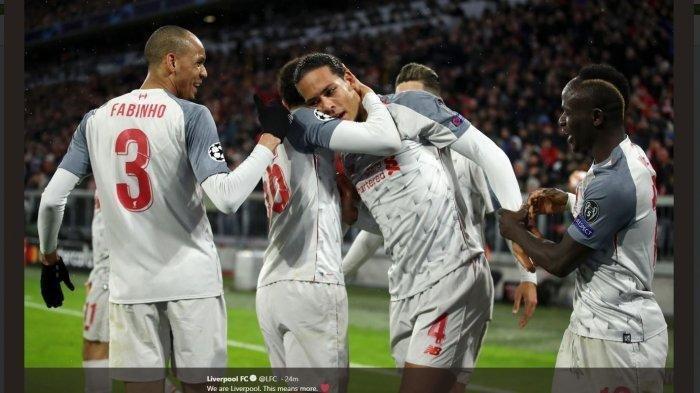 Jangan Tegang, Rahasia Liverpool Jungkalkan Bayern Muenchen di Liga Champions