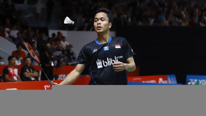 Swiss Open 2019 - Anthony ke Babak Empat Besar Usai Taklukkan Lin Dan