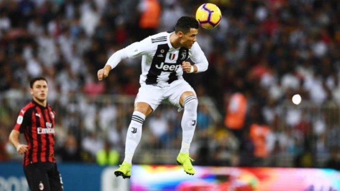 Video Ini Tunjukkan Gol Kedua Cristiano Ronaldo ke Gawang Atletico Madrid Tidak Sah