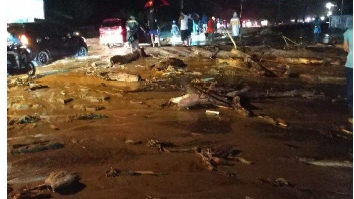 Banjir Bandang Terjang Sentani Jayapura, Pasar Baru hingga RSUD Yowari Terendam Air
