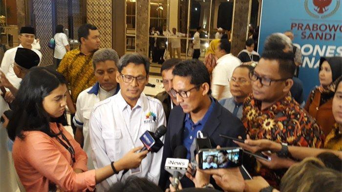 Sandiaga Uno Janji Tak Ingin Serang Maruf Amin Didebat Esok
