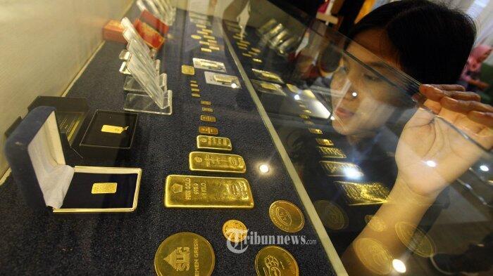 Harga Emas Antam Melambung Rp 671.000 per Gram