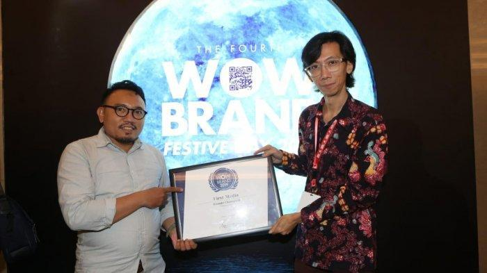 First Media Raih Penghargam WOW Brand 2019
