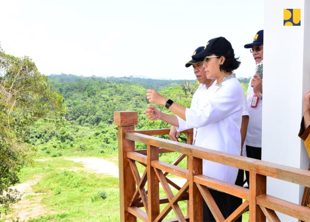 Progres 98%, Bendungan Sindangheula Mampu Airi Irigasi 1.000 Hektare