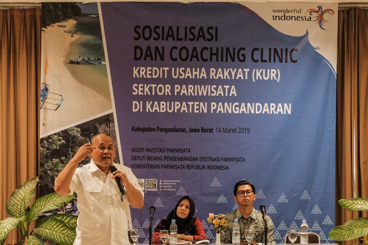 KUR Pariwisata Potensial Dongkrak Wisata Bahari Pangandaran
