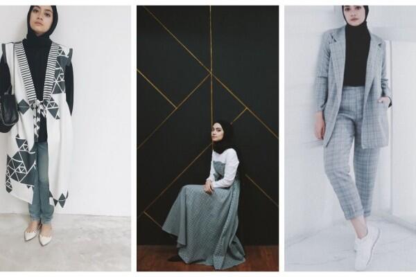 10 Gaya Hijab Ayudia Bing Slamet, Simple Tapi Tetap Fashionable