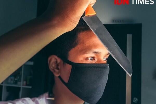 Melakukan Penusukan di Halte TransJakarta, Pria Ini Jadi Tersangka