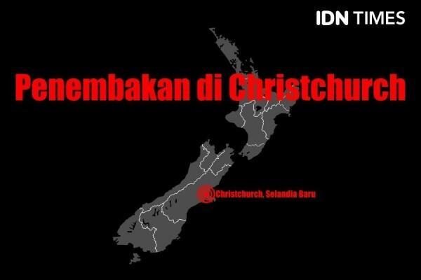 Pemprov DKI Tampilkan Warna Bendera Selandia Baru di JPO GBK