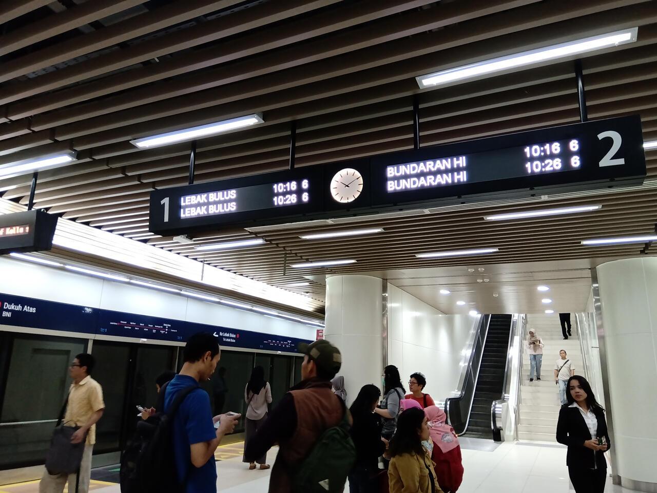 MRT Jakarta Sudah Diuji Coba, ke Depannya Aku Berharap....