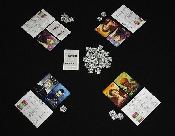 Belajar Manajemen Keputusan dengan Bermain Coup Board Game