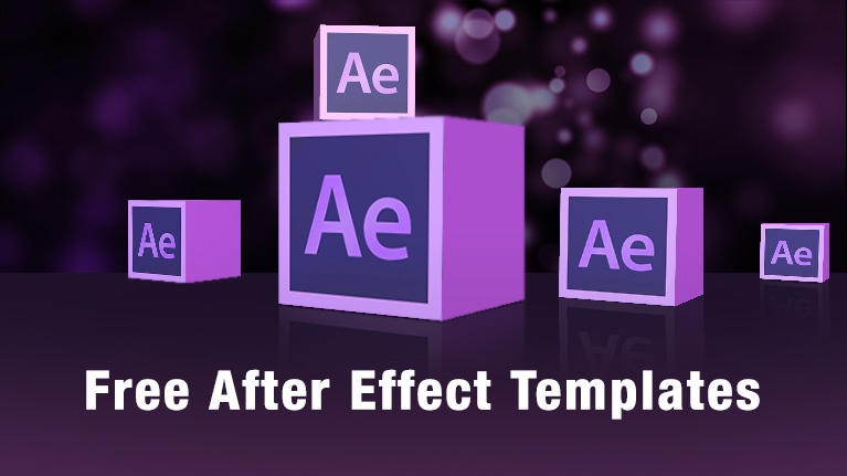 Template Adobe After effect