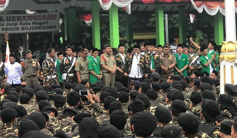 Marak Hoax dan Ujaran Kebencian Jelang Pemilu, GP Ansor: Kami Percaya pada TNI-Polri