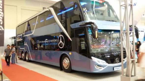 5 Varian Bus Tingkat Terbaik Indonesia.... Bismania masuk !!!