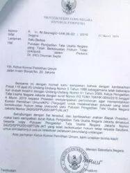 Jokowi Kirim Surat Minta KPU Sahkan OSO Jd Caleg DPD, KPU Langsung Tolak