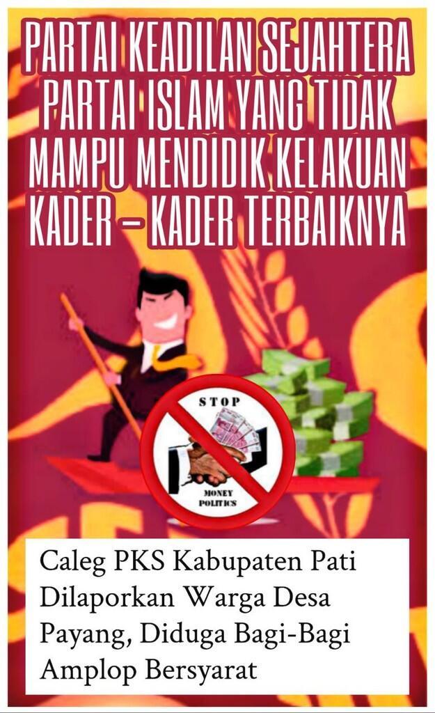 Lagi-Lagi, Caleg PKS Terbukti Mainkan Politik Uang di Pati