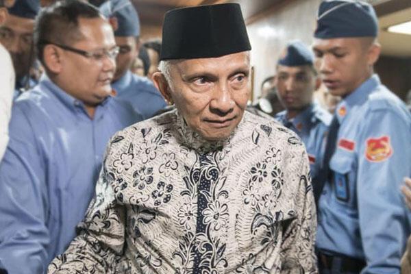 'People Power' Amien Rais, Inkonstitusional