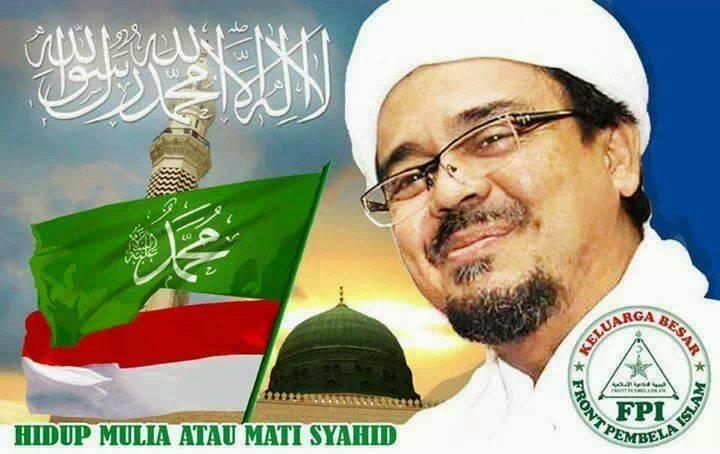 Kampanye Akbar Prabowo-Sandi Ditutup dengan 10 Pesan Habib Rizieq