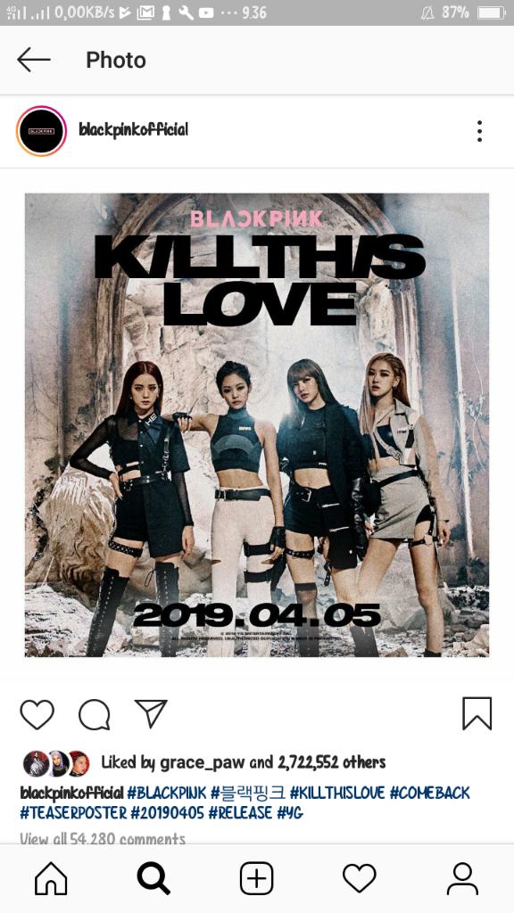 "Music Video Blackpink ""Kill This Love"" Trending Di 84 Negara"
