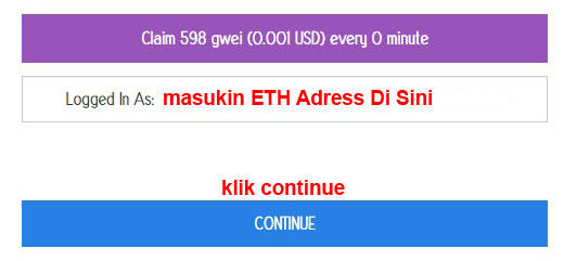 ETH Faucet - Gratis Up to 500 Gwei per 0 Menit!