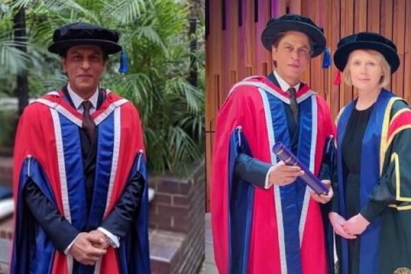 9 Momen Haru & Bahagia Saat Shah Rukh Khan Raih Gelar Doktor di London