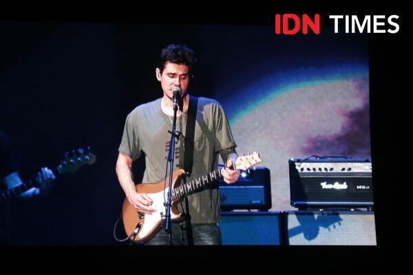 John Mayer Tampil Memukau dalam Rangkaian World Tour Asia di Jakarta