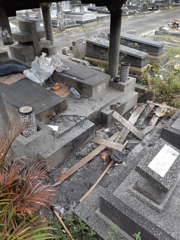 Sejumlah Nisan di Makam Bethesda Yogya Dirusak Orang Tak Dikenal