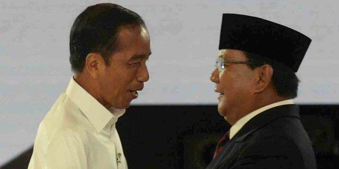 Survei: H-12 Pencoblosan, Jokowi Masih Ungguli Prabowo