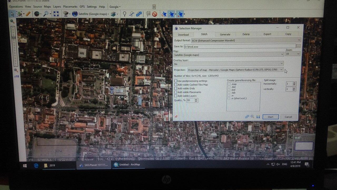 <b>Bagaimana mendownload citra satelit resolusi tinggi menggunakan SAS Planet</b>