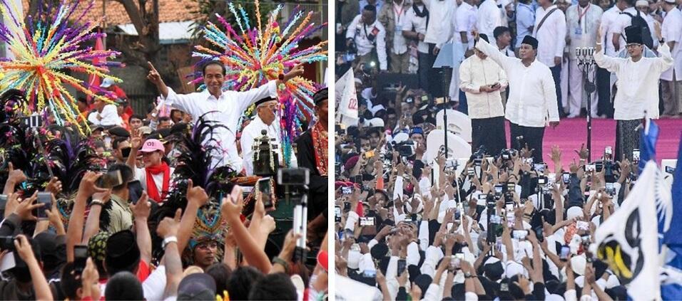 Jokowi-Prabowo, Mulai Saling Klaim