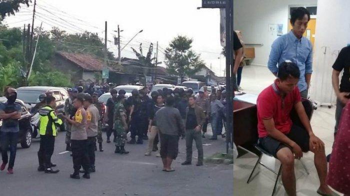 TNI dan Panwaslu Luka Serius Dikeroyok Massa Kampanye Akbar Jokowi-Ma'ruf Amin