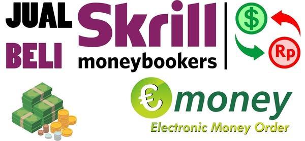 Panduan Jual Beli Usd Skrill di eMoney.cash