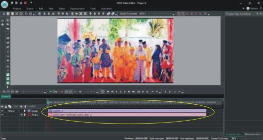 Pasang Cover Musik di Video Sendiri Dengan VSDC