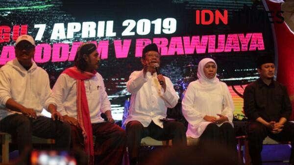 Jelang Final Piala Presiden 2019, Khofifah Ajak Suporter untuk Damai